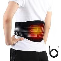 Almohadilla electrónica lumbar/abdomen, Fajas de cintura y abdomen