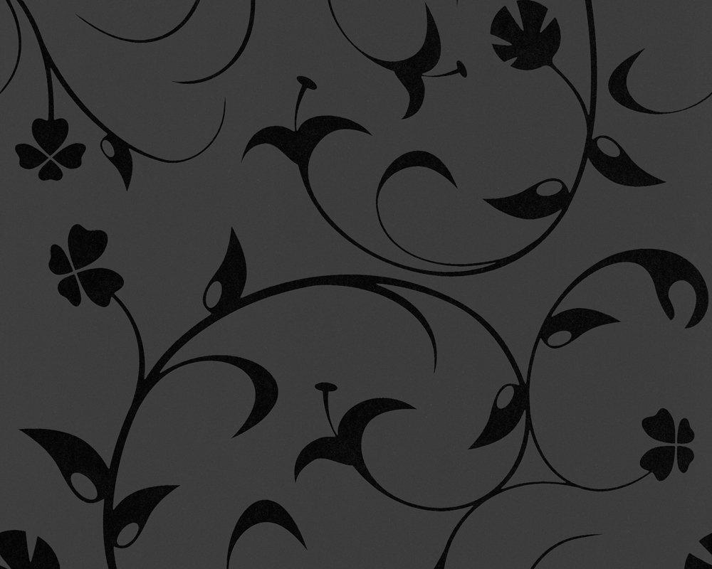 Livingwalls 567123 Papel pintado negro