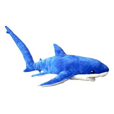 "Adore 28"" Tails The Thresher Shark Stuffed Animal Plush Toy: Toys & Games"