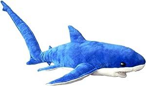 "Adore 28"" Tails The Thresher Shark Stuffed Animal Plush Toy"