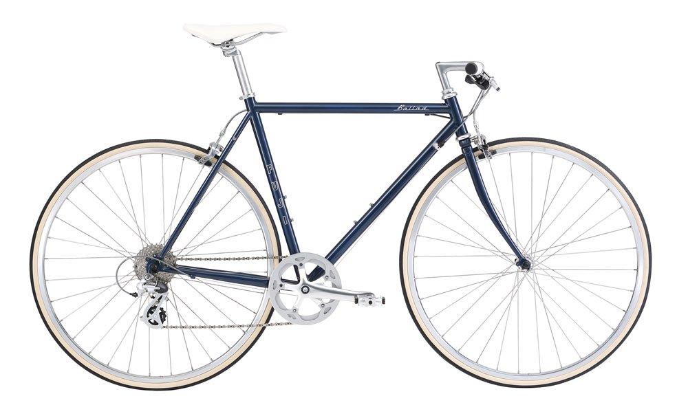 FUJI(フジ) BALLAD 54cm 8speed NAVY クロスバイク 2018年モデル 18BALDNV NAVY 54cm B075SYVRH9