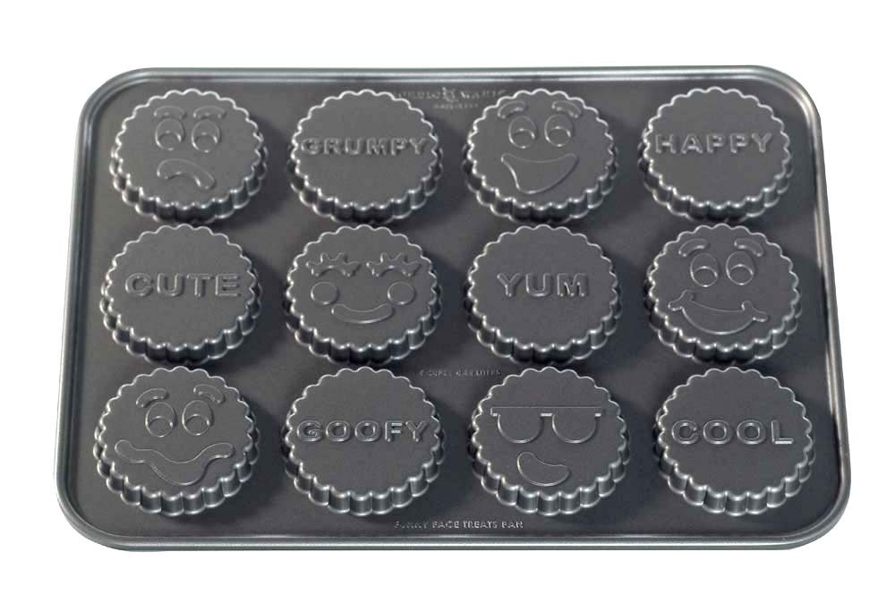 Nordic Ware Pro Cast Funny Face Treat Pan