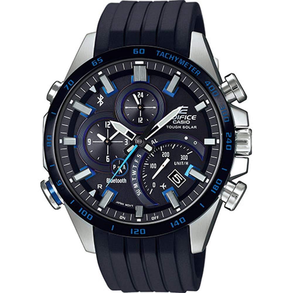 Smartwatch híbrido Casio Edifice EQB-501XBR-1AER: Amazon.es ...