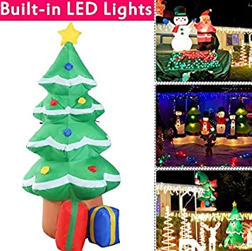 ka company christmas inflatable decoration yard tree lawn waterproof outdoor art airblown minion decor foot gift