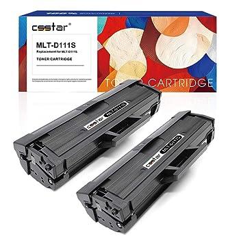 CSSTAR Compatible Cartuchos de Tóner Reemplazo para Samsung 111S ...