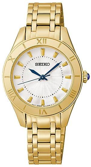 Reloj Seiko Neo Classic Srz434p1 Mujer Blanco