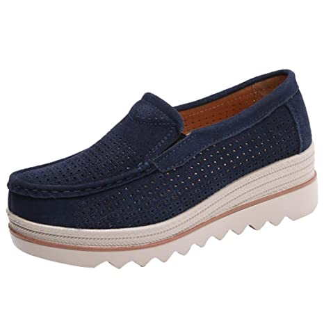 Covermason Zapatos Acelerar los zapatos, planos con cordones plano mujer Muffin: Amazon.es: Ropa y accesorios