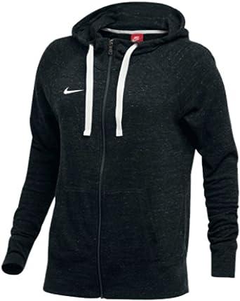 Amazon.com: Nike Womens Gym Vintage Team Hoodie Full Zip ...