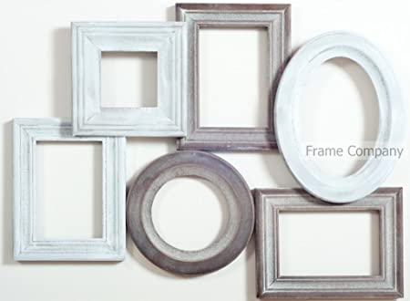 Frame Company Lansdowne Multi-Aperture Rustic Vintage Picture Photo ...