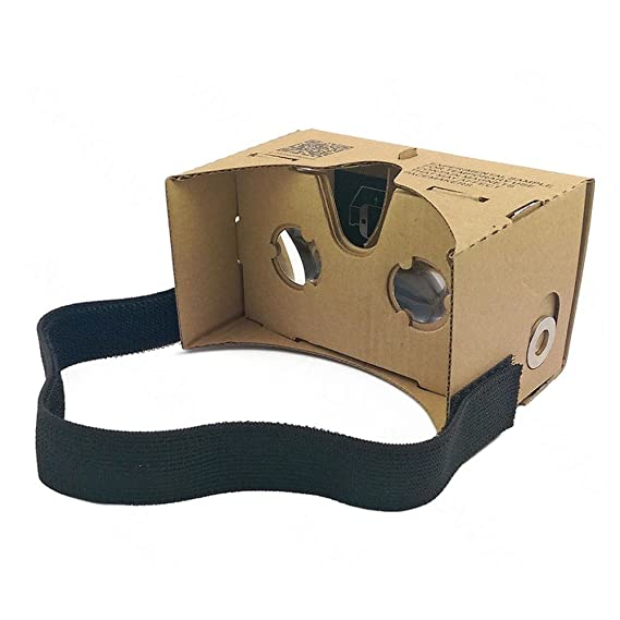 aebe6450dea Google Cardboard Kit By Easy Tech Gear Virtual Reality VR Google Glasses  Google Cardboard 3D Glasses