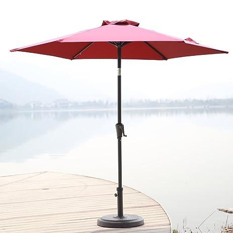 Elegant C Hopetree 7u00275u0026quot; Outdoor Patio Umbrella, Small Market Table Umbrella  With