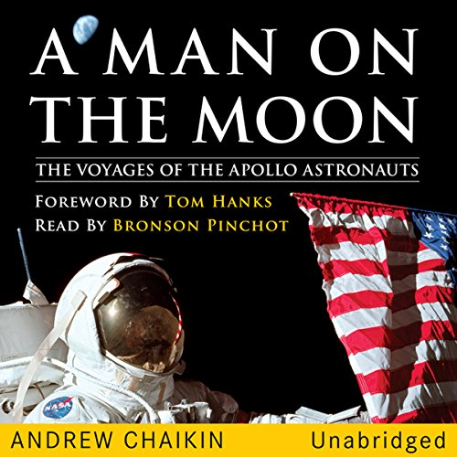 A Man on the Moon: The Voyages of the Apollo Astronauts Audiobook [Free Download by Trial] thumbnail