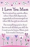 "Heartwarmers I Love You Mum Keepsake Card & Envelope 3.5"" x 2"" Code K094E"