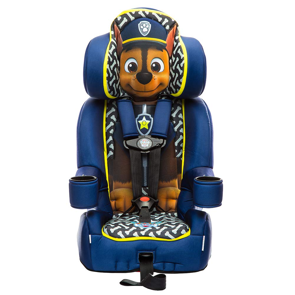 KidsEmbrace 2 In 1 Harness Booster Car Seat Nickelodeon Paw Patrol Chase