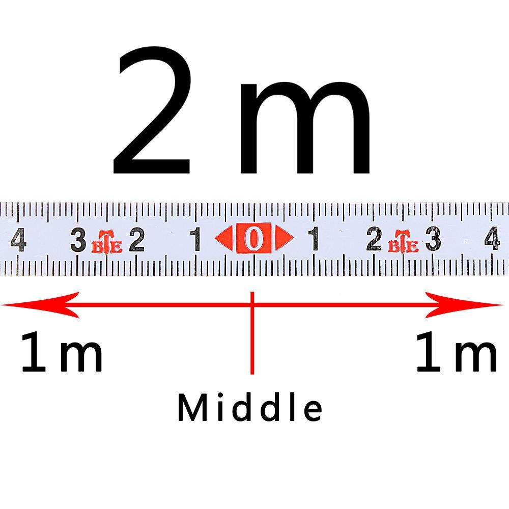 Pannow Selbstklebendes metrisches Lineal Gehrungsband aus Stahl f/ür T-Track Router Tischs/äge Holzbearbeitungswerkzeug 5 M-0