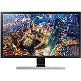 Samsung LU28E590DS/XL 28-inch UHD LED Backlit Computer Monitor (Black/Metallic Silver)