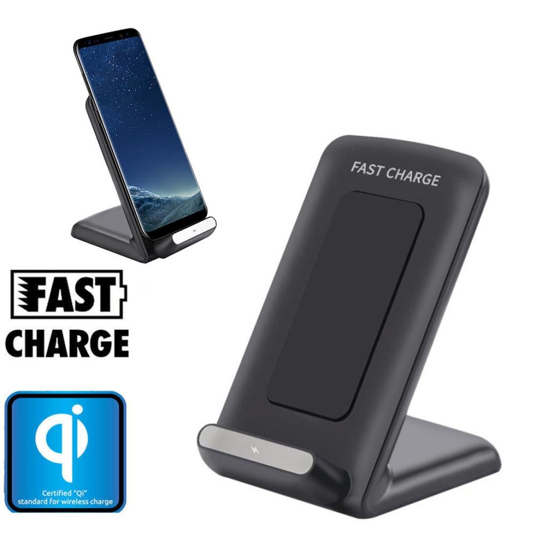 10W Wireless Charger Fast Charging Stand for iPhone 8/8Plus/X/Samsung Galaxy S8/S8 Plus/S7 / S7 Edge/S6 Edge+ Plus / S6 Edge /S6/Note 5