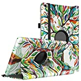 TiMOVO All-New Fire HD 10 Case (7th Generation, 2017 Release) - Ultra Lightweight Slim Shell 360 Degree Rotating Cover with Auto Wake/Sleep Function for Amazon Fire HD 10 Tablet 10.1'', LuckyTree