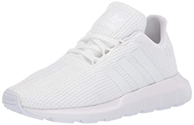 promo code e9891 4fd9f adidas Originals Baby Swift Running Shoe, White, 5.5K M US Toddler