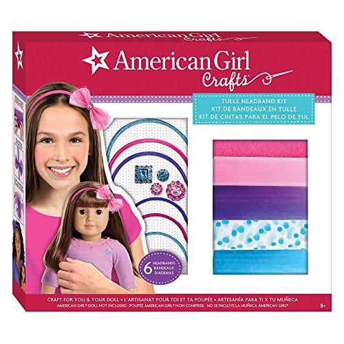(American Girl Tulle Headband Kit)