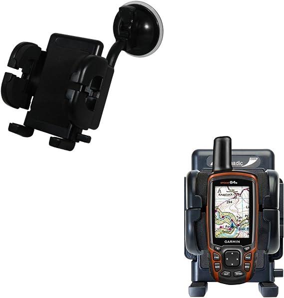 Soporte para el Garmin GPSMAP 64 / 64s / 64st con montaje para parabrisas: Amazon.es: Electrónica