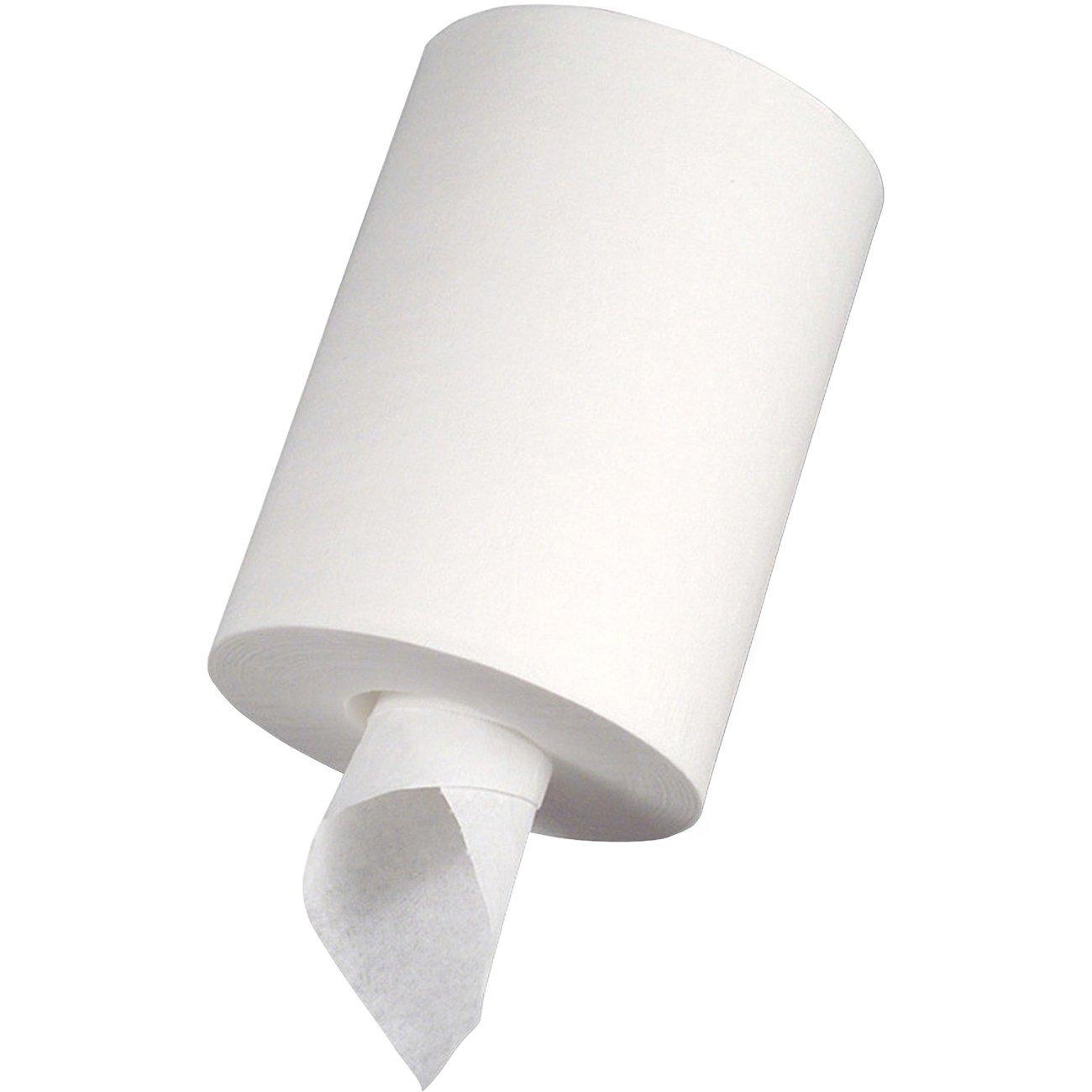 Genuine Joe GJO23600 Center Pull Paper Towels, 600 Sheets, White (5 Cases)