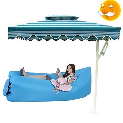 Jisoncase JS-IP5 – inflable tumbona sofá camas, colchones de aire portátil playa tumbona