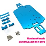 DishyKooker A949 A959 A969 A979 K929 A959-B A969-B A979-B K929-B RC Car Spare Part A949-23//A959-B-27 Upgrade All Metal Differential