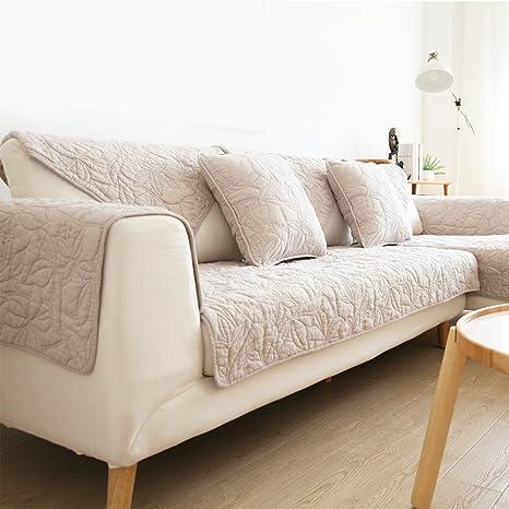 Nclon Algodón Funda para sofá Toalla de sofá Verano ...