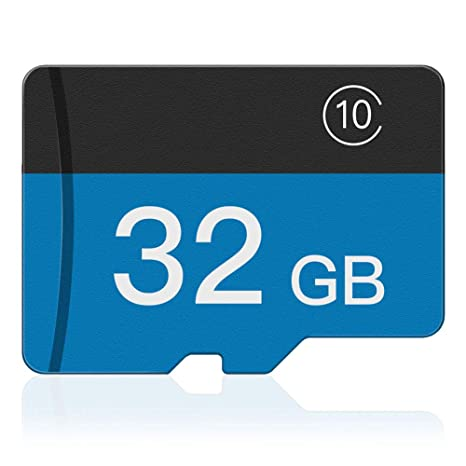 VOLADOR 32GB Tarjeta Micro SD Tarjeta de Memoria SDHC Clase 10 con Adaptador SD, para Cámara Digital, Endoscopio Industrial, Teléfonos Celulares, GPS, ...
