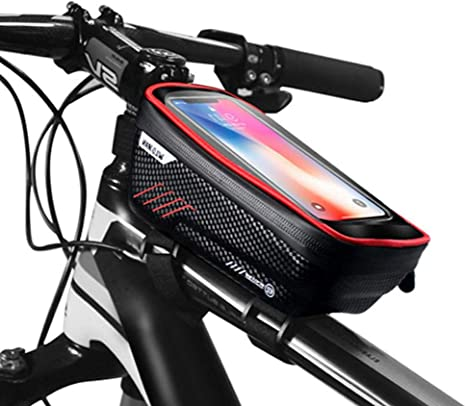 WPSTGB Bolsa, A Prueba De Lluvia Bicicleta Bolsa De Teléfono ...