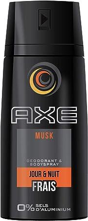 Axe - Desodorante en spray musk en nuevo diseño – 150 ml (3 ...