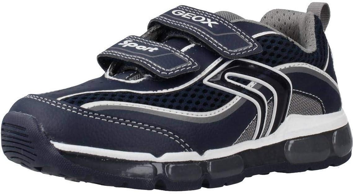 Desconfianza Comprensión petróleo crudo  Geox Boys' J Android C Low-Top Sneakers: Amazon.co.uk: Shoes & Bags