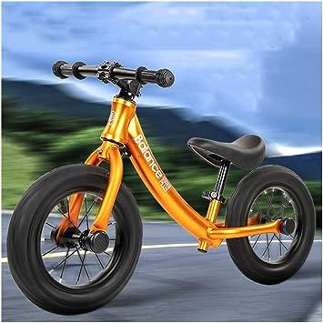QQB Niños Equilibrio Entrenamiento Bicicleta Peso Ligero Edad 3-5 Años Niño (Color : C) : Amazon.es: Juguetes y juegos