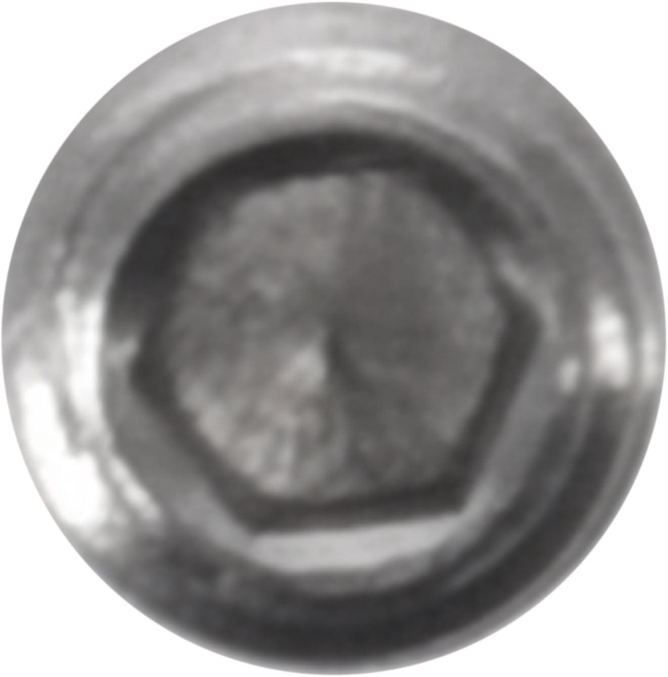 SNOWINSPRING 50Pcs M3X3Mm Edelstahl Innensechskant Set Cap Point Madenschrauben Silber