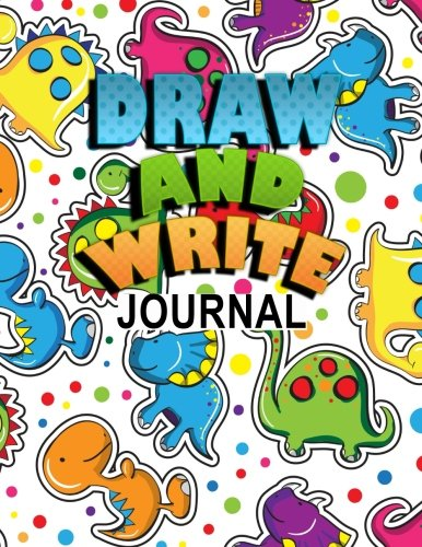 Draw And Write Journal: Primary Journal Notebooks Grades K-2 With Picture Space Half Lined (1
