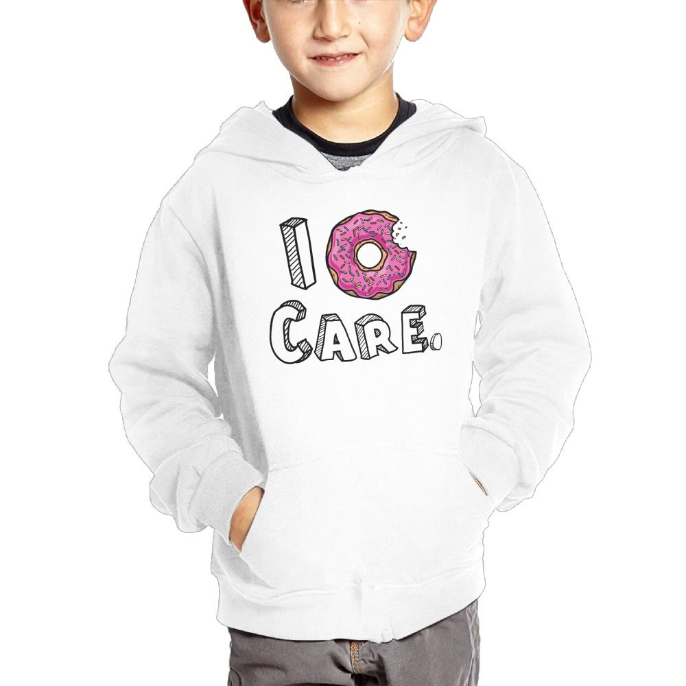 Anutknow Donut Care One Bite Flavor Donuts Childrens Fashion Casual Hooded Pocket Sweater