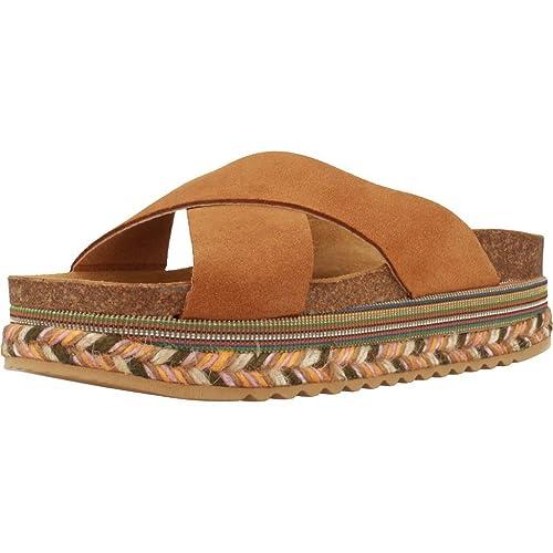 Alpargatas para Mujer, Color marrón, Marca YELLOW, Modelo Alpargatas para Mujer YELLOW Clyde Marrón: Amazon.es: Zapatos y complementos