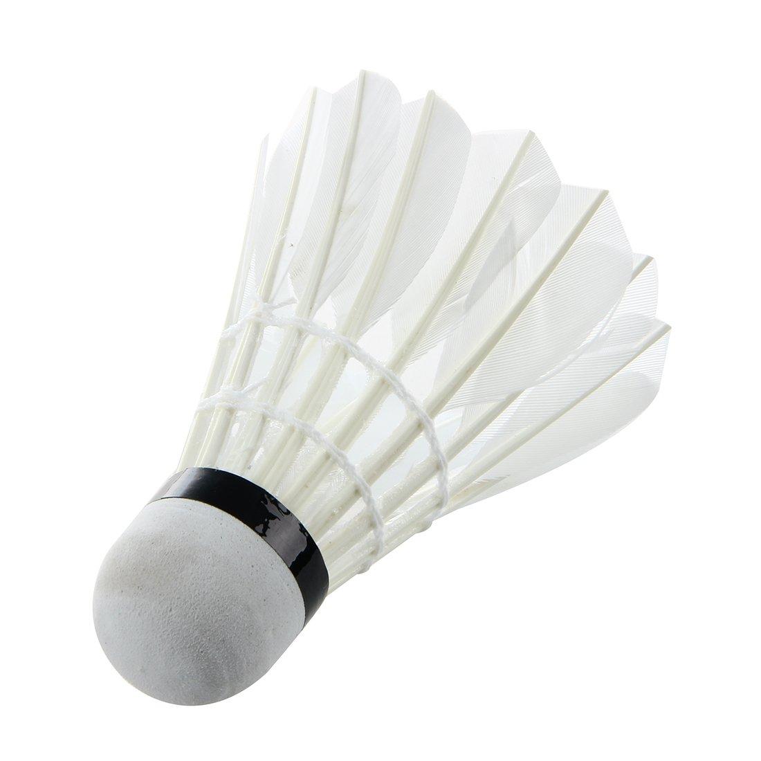 1 Satz von 3 Stuecken Dunkle Nacht Badminton mit LED Licht Beleuchtung Blau
