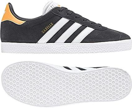 adidas Gazelle J, Chaussures de Fitness Mixte Enfant, Gris