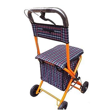 XINZ Andador Para Ancianos De 4 Ruedas | Plegable | Con ...