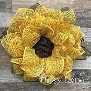 Yellow Sunflower Wreath 89