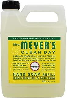 product image for Mrs. Meyers Liquid Hand Soap Refill Honeysuckle, 33 Fl Oz