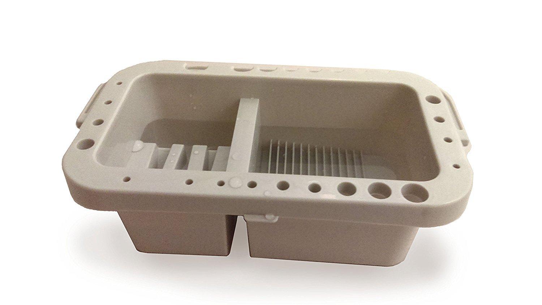 Amazon.com: Portátil Pincel (Caddy y soporte con tapa de ...