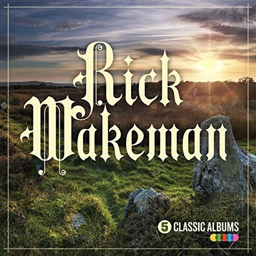 CD : Rick Wakeman - 5 Classic Albums (United Kingdom - Import, 5 Disc)