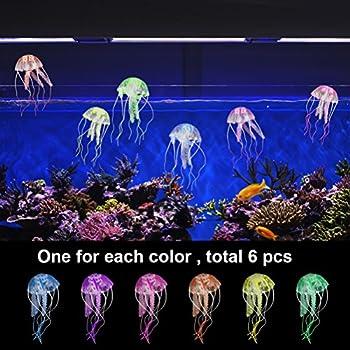Pet Products Decorations Analytical 1pcs Aquariums Accessories Fluorescent Artificial Coral Glowing Leaf Mushroom Luminous Stones Fish Tank Decoration Online Shop