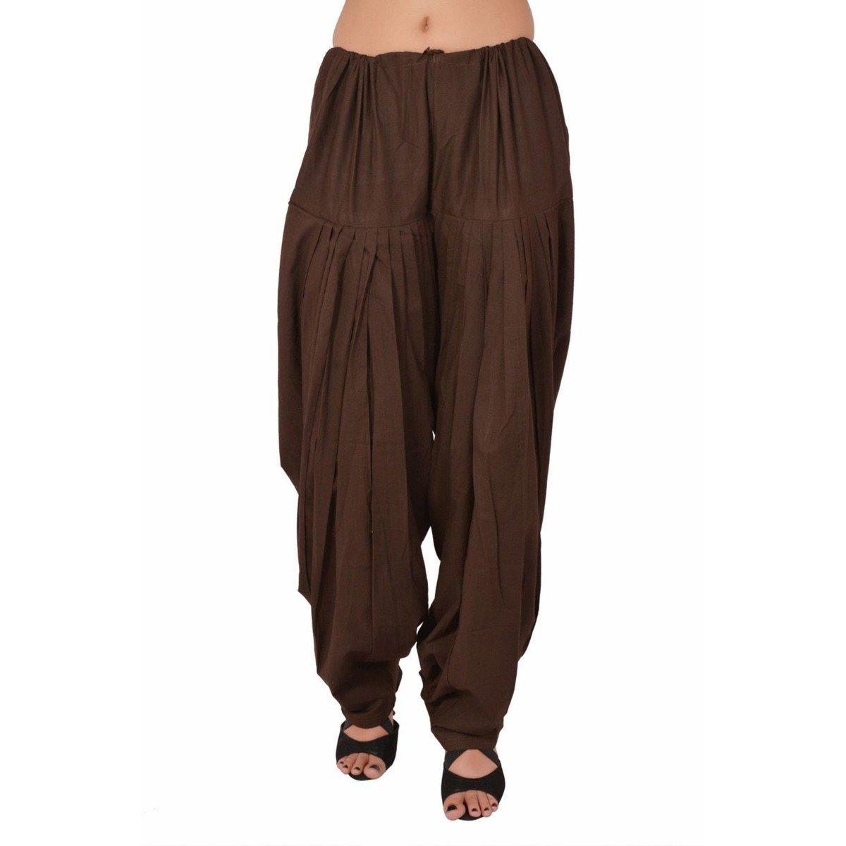 PlainPATIALASALWAR Pants-100% Cotton-IN MANY COLOURS- Kameez Kurti Tunic Yoga Patiala-A
