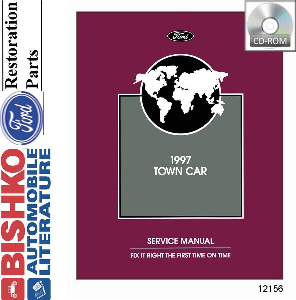Amazon.com: bishko automotive literature 1997 Lincoln Town Car Shop Service  Repair Manual CD Engine Drivetrain Electrical: Automotive