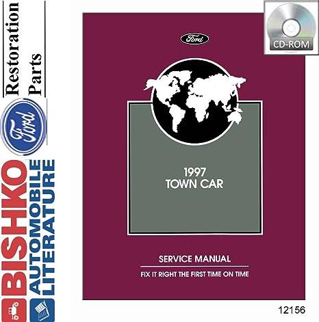 Amazon Com Bishko Automotive Literature 1997 Lincoln Town Car Shop