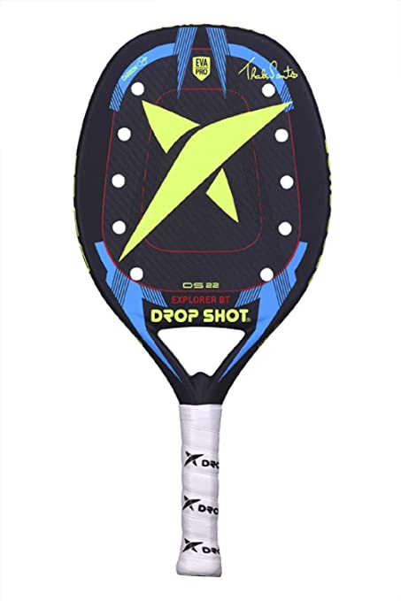 DROP SHOT Explorer BT Pala Pádel, Unisex Adulto, Negro, S/M ...